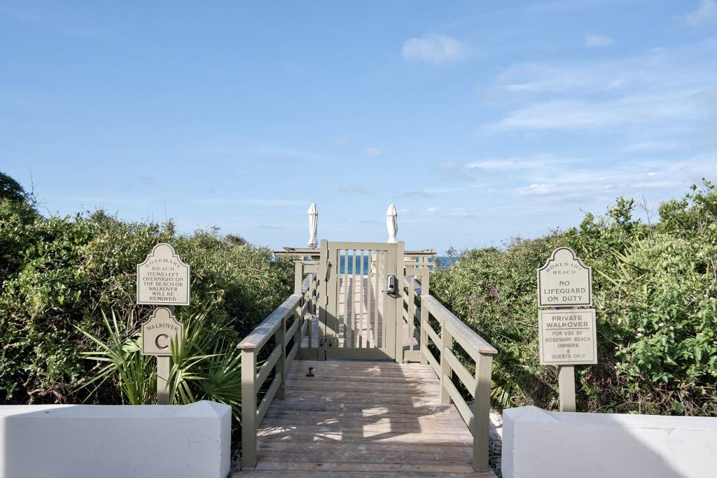 Private Beach Access at Rosemary Beach