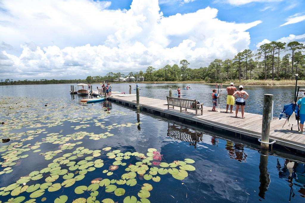 Dock at WaterColor