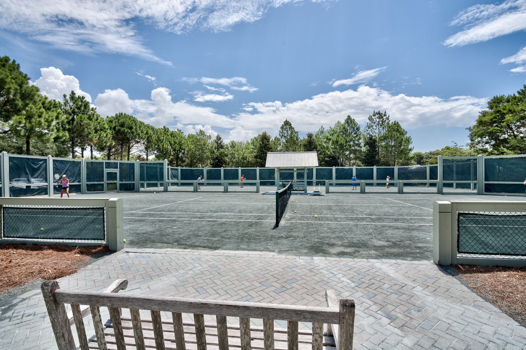 Tennis Court at WaterColor