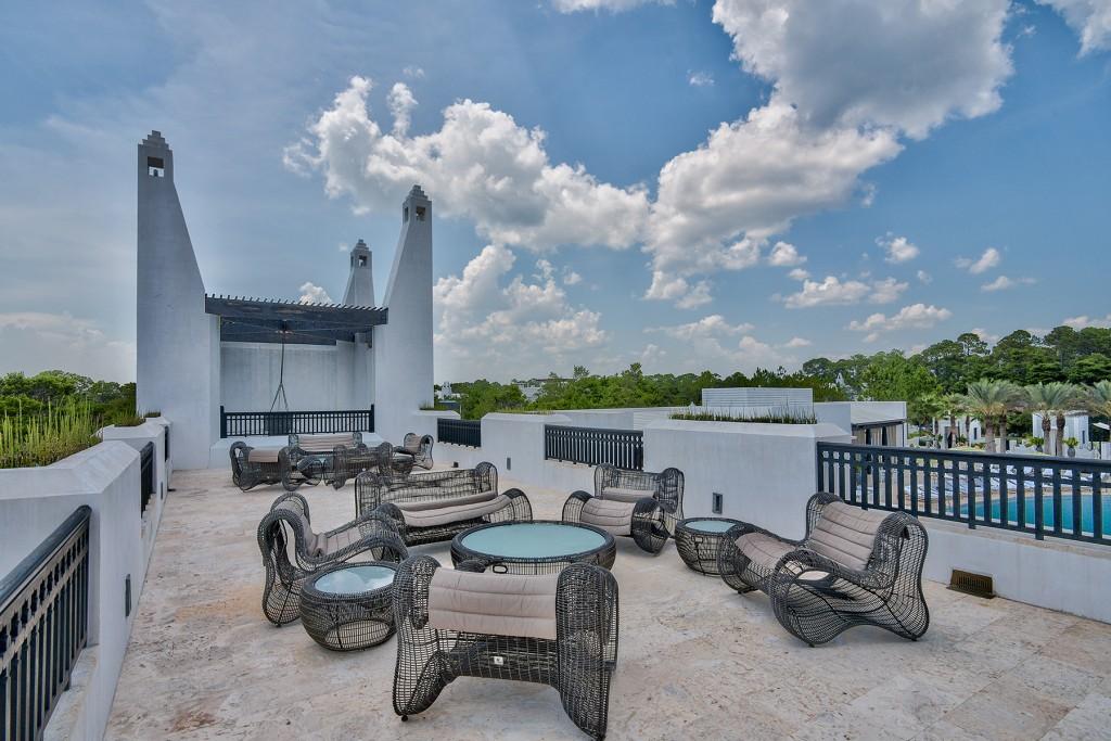Caliza Pool Rooftop Terrace at Alys Beach