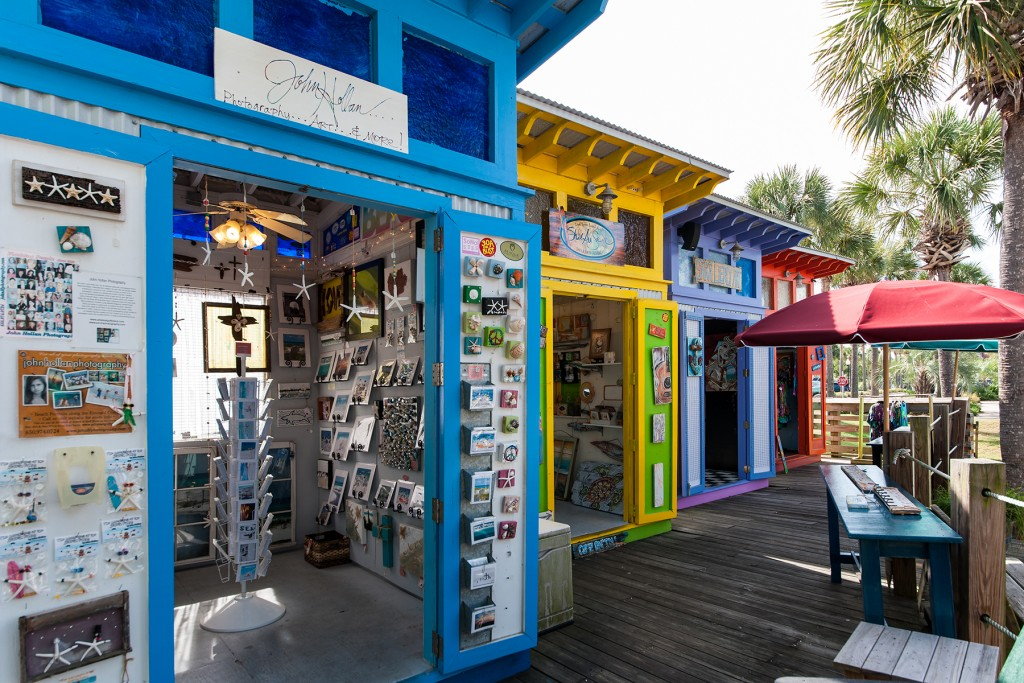 Artists Colony Shops at Gulf Place in Santa Rosa Beach