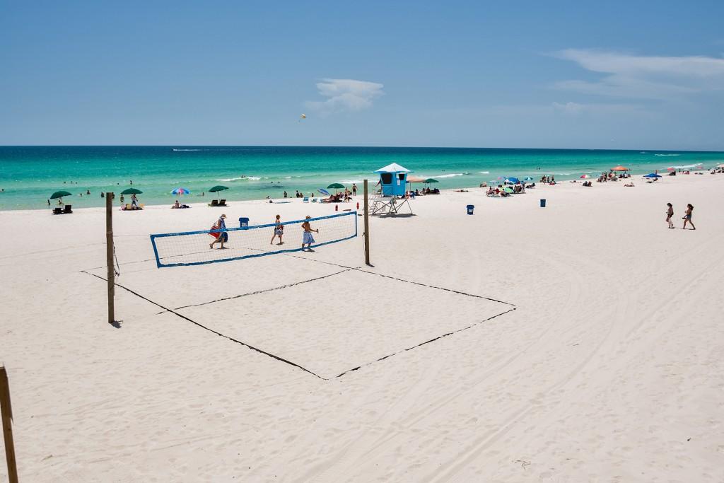 Beach Volleyball on  Panama City Beach