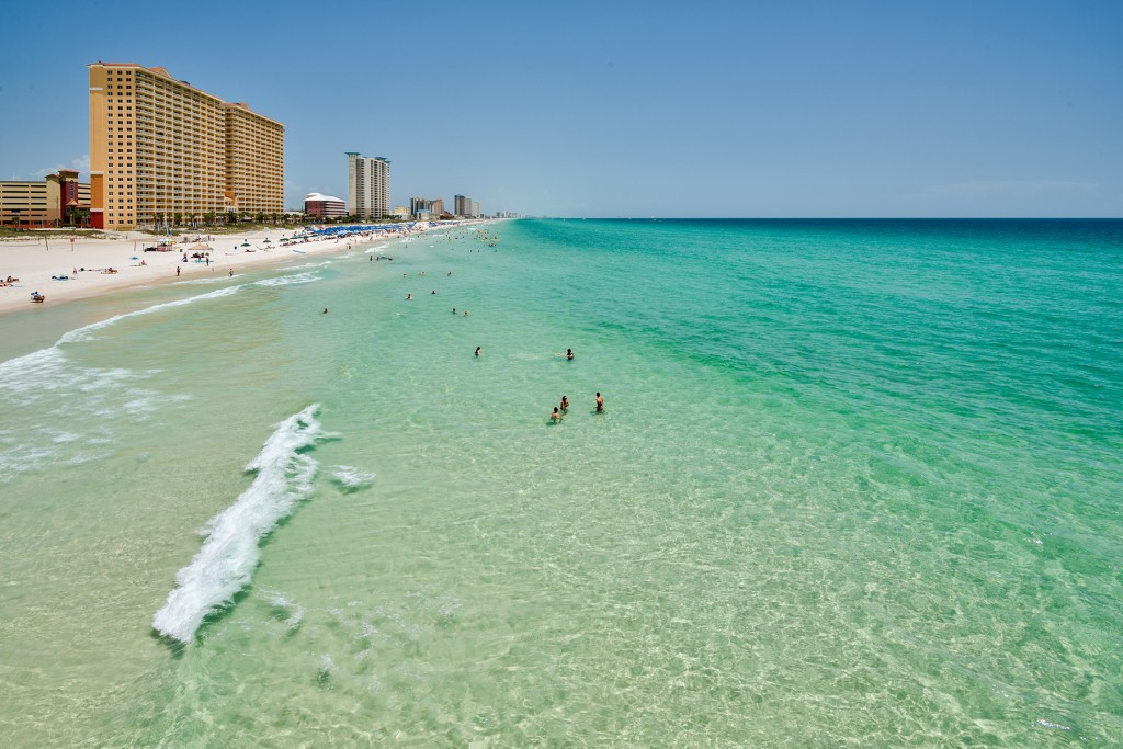 Emerald Gulf of Mexico Water
