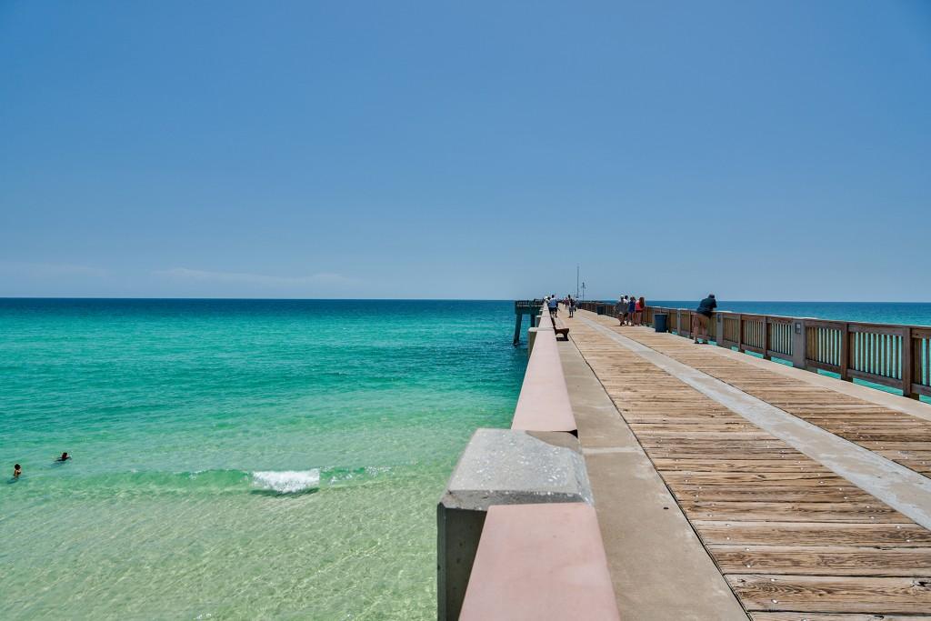 Pier in Panama City Beach