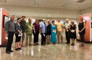 St Augustine Art Association Exhibit Winners with Karen Zander from 97Park