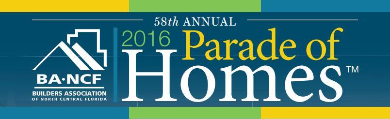 Parade of Homes Spring 2016