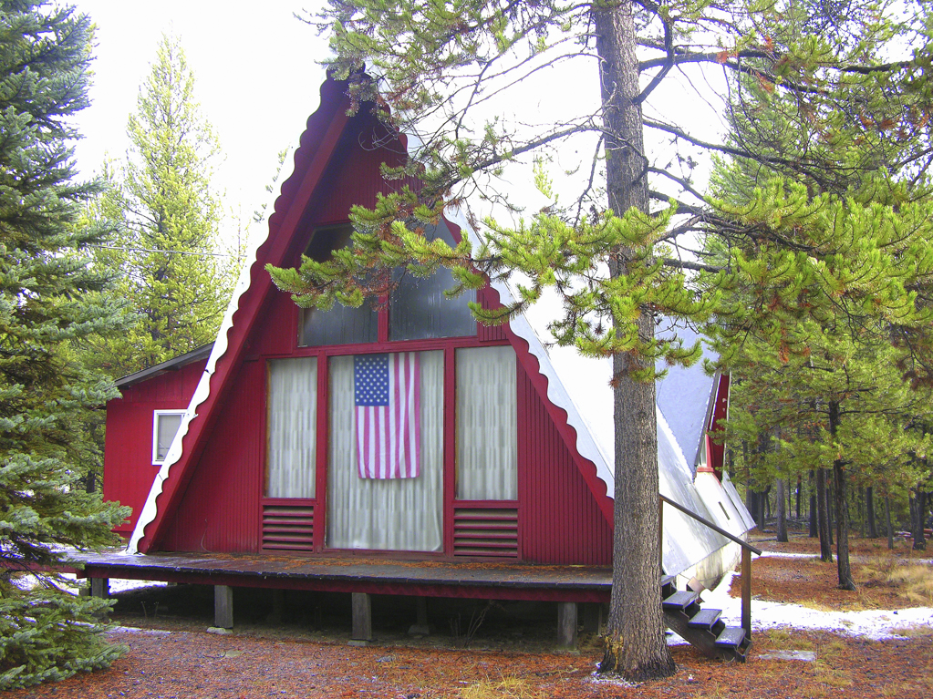 Classic A-Frame Chalet on 1 Plus Acre.
