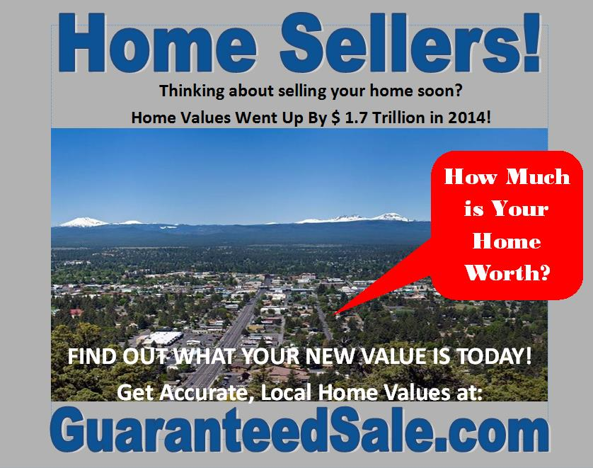 Bend Homes Increased in Value!