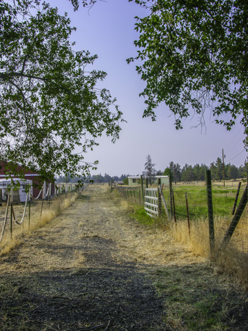 Private 5 Acres with COI Irrigation and Shop!