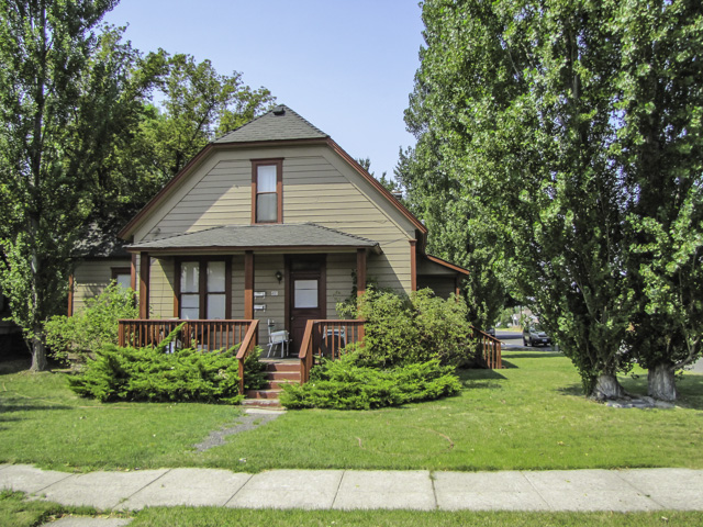 Comfortable Duplex, full of character, commercially zoned, and near the heart of Prineville.
