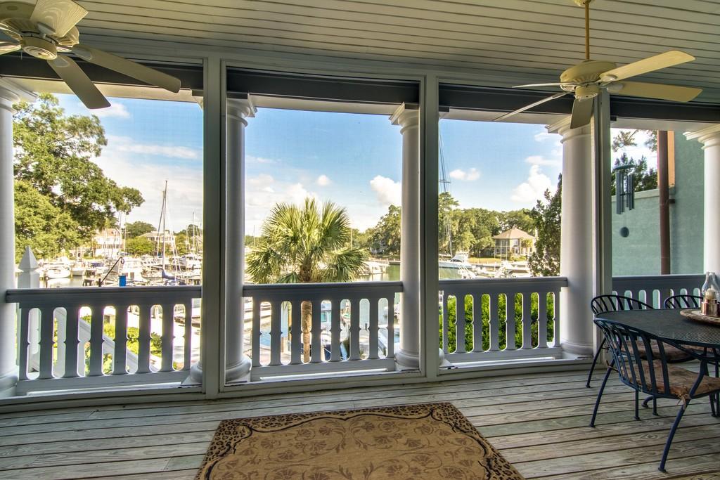 6 Yacht Club Drive Hilton Head Island Porch