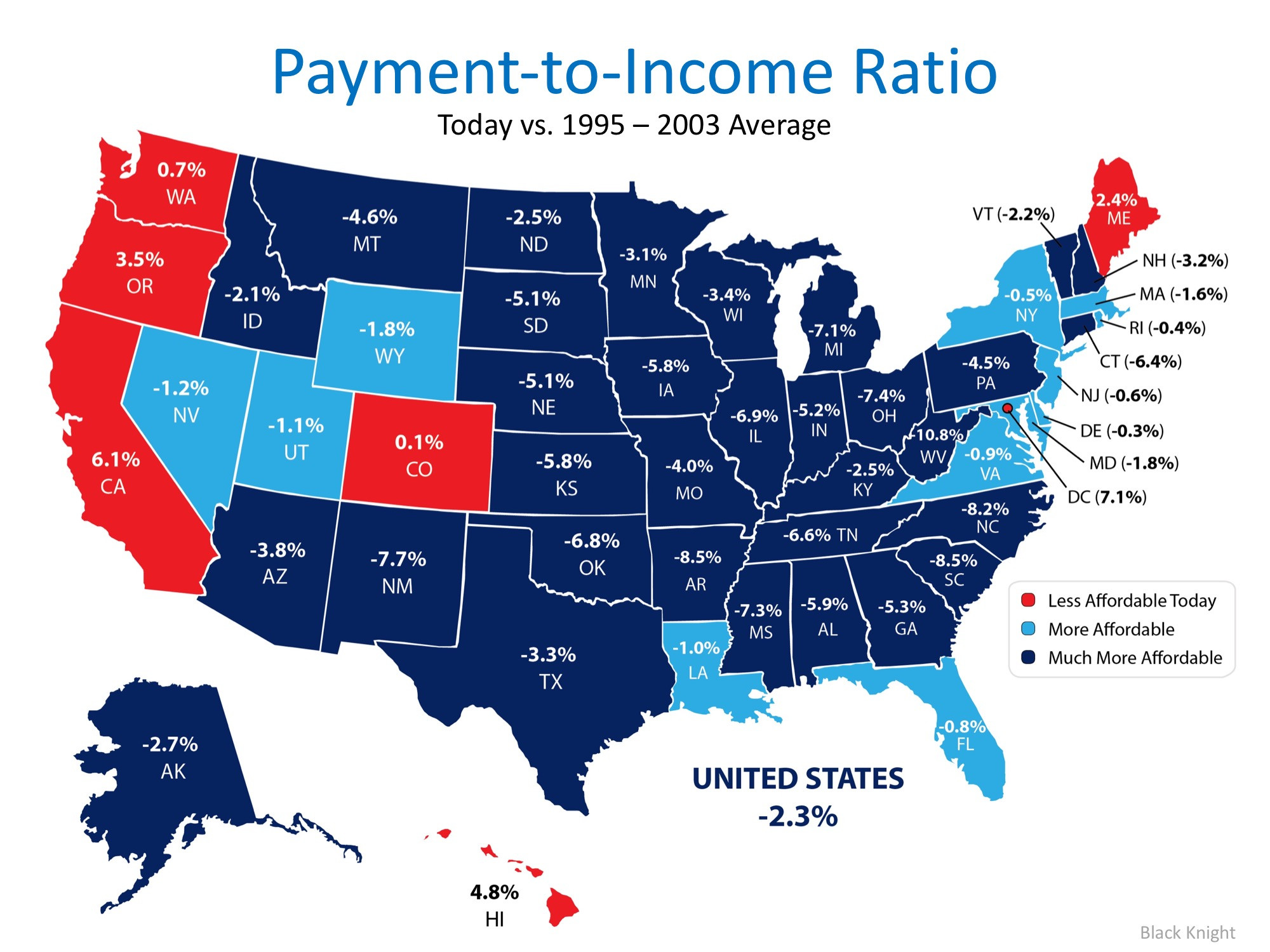 Homes are More Affordable in 44 out of 50 States   Simplifying The Market