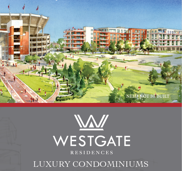 A high-design, luxury condominium residence being constructed next to Bryant-Denny Stadium and the Walk of Champions. Elevate how your family tailgates for generations to come. The views, proximity and amenities will be second to none in Tuscaloosa. Please call 205.292.4546 for more information.