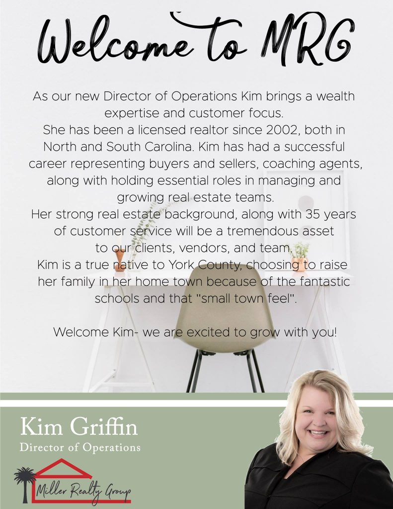 Kim Griffin At the Miller Realty Group