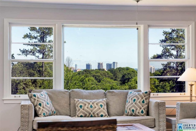 This could be your living room, overlooking Birmingham's skyline.