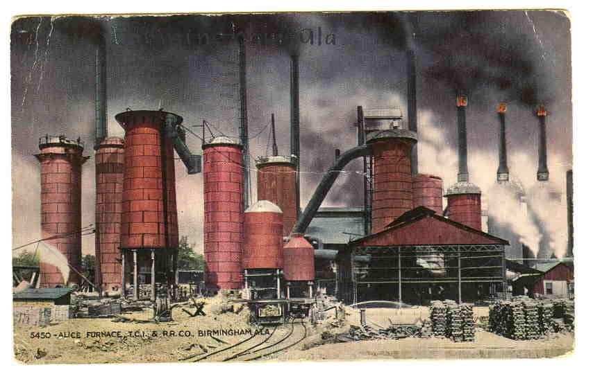 Alice Furnace 1905 in Titusville, then called South Elyton.