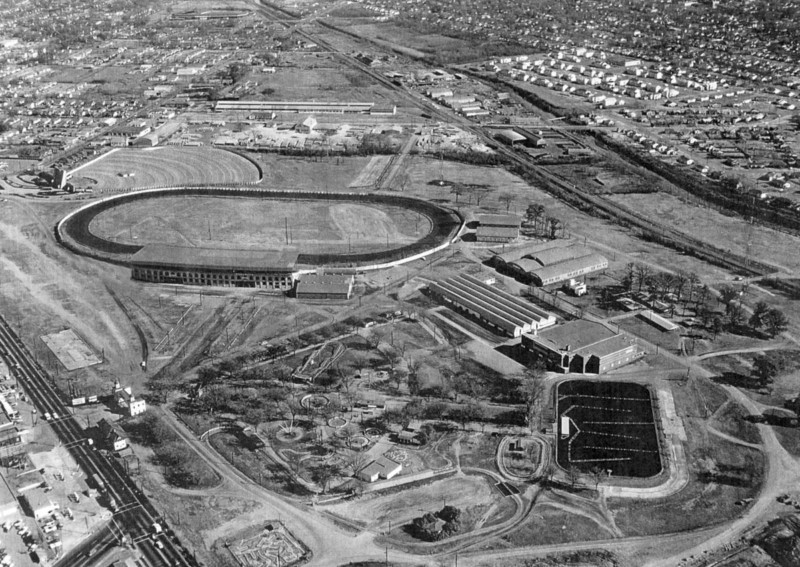 Aerial View of the Alabama State Fairgrounds