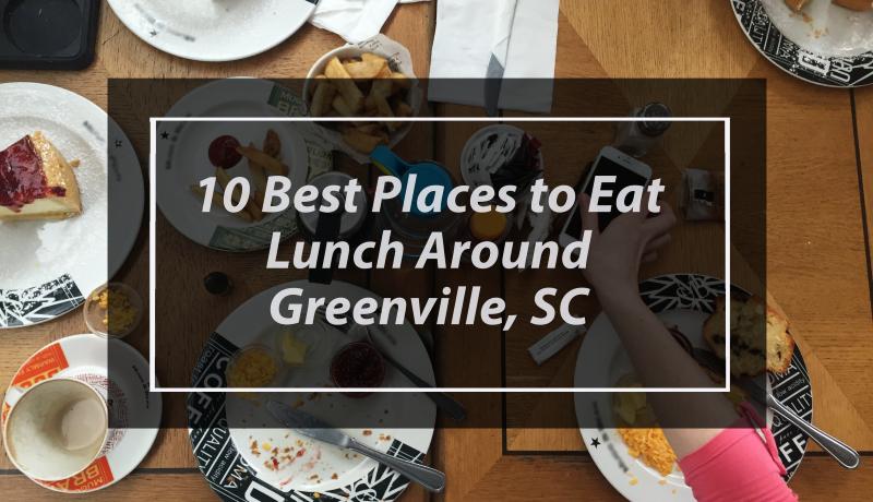 lunch restaurants in Greenville SC