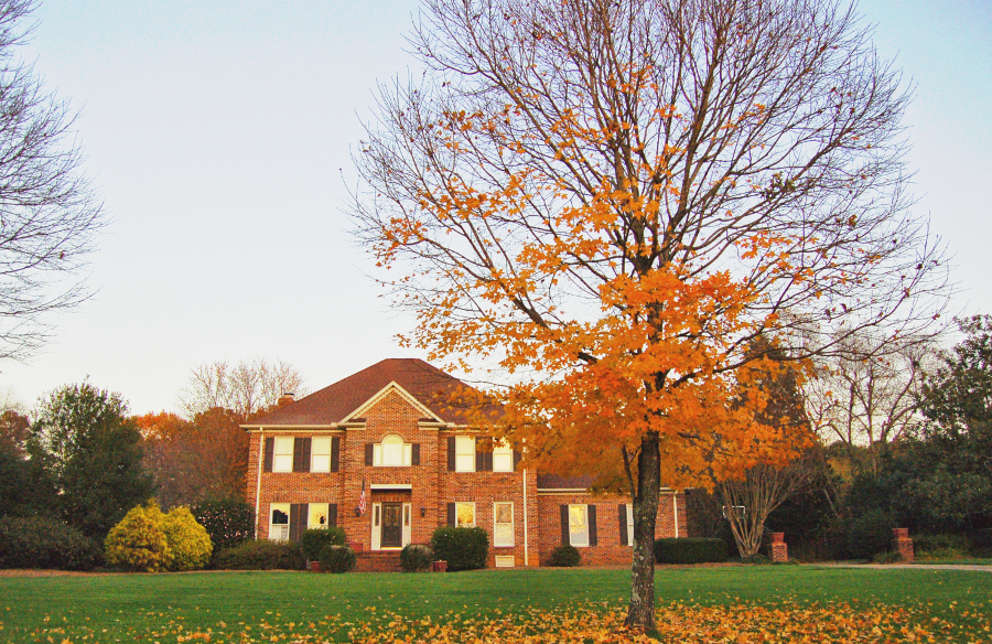 selling home in fall