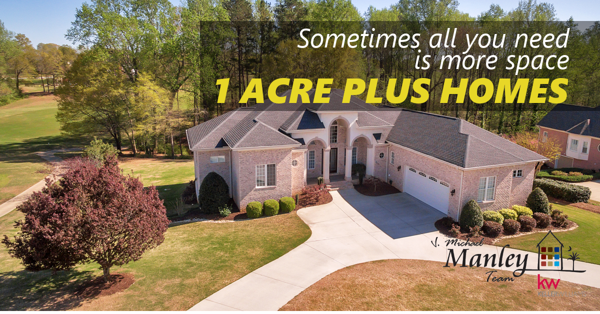 On 1 Acre - Greenville SC Real Estate - Greenville SC Homes For Sale