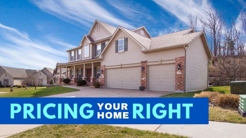 Pricing your home right