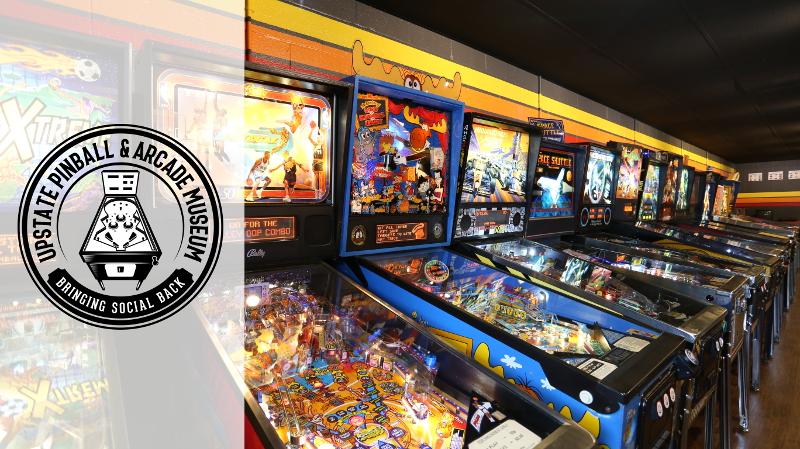 Upstate Pinball & Arcade Museum