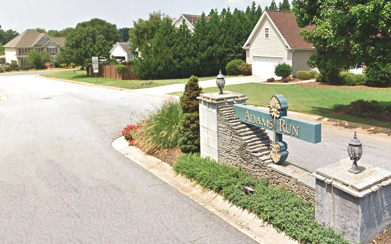 Adams Run Subdivision, Simpsonville