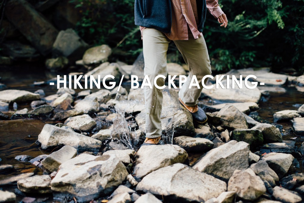 HIKING BACKPACKING