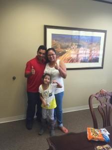 Barahona-Caceres Family