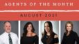 Agents of the Month: August 2021 | The Christy Buck Team