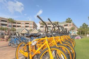 Bikes at Seacrest Beach