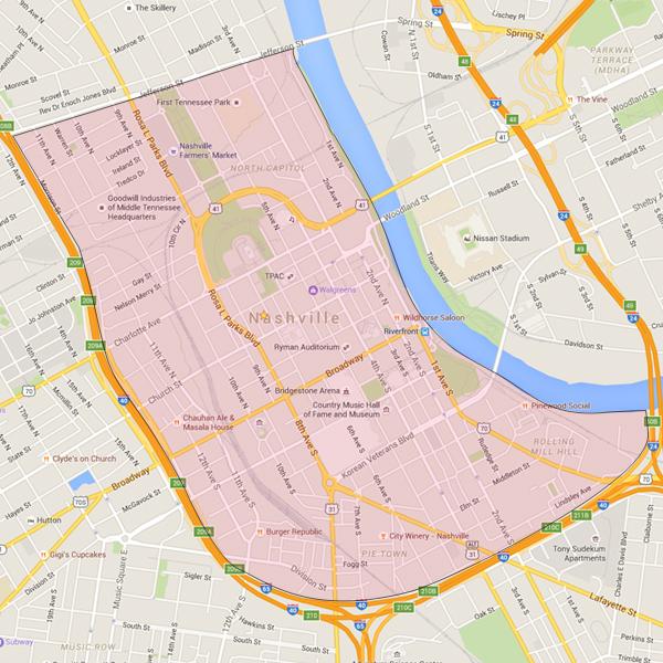 Downtown Nashville | Nashville Real Estate :: The Miles Team on