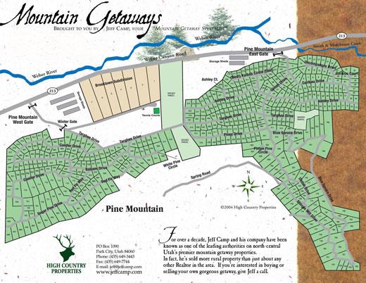 Oakley Utah Map.Utah Cabins For Sale Recreational Properites In Utah Park City