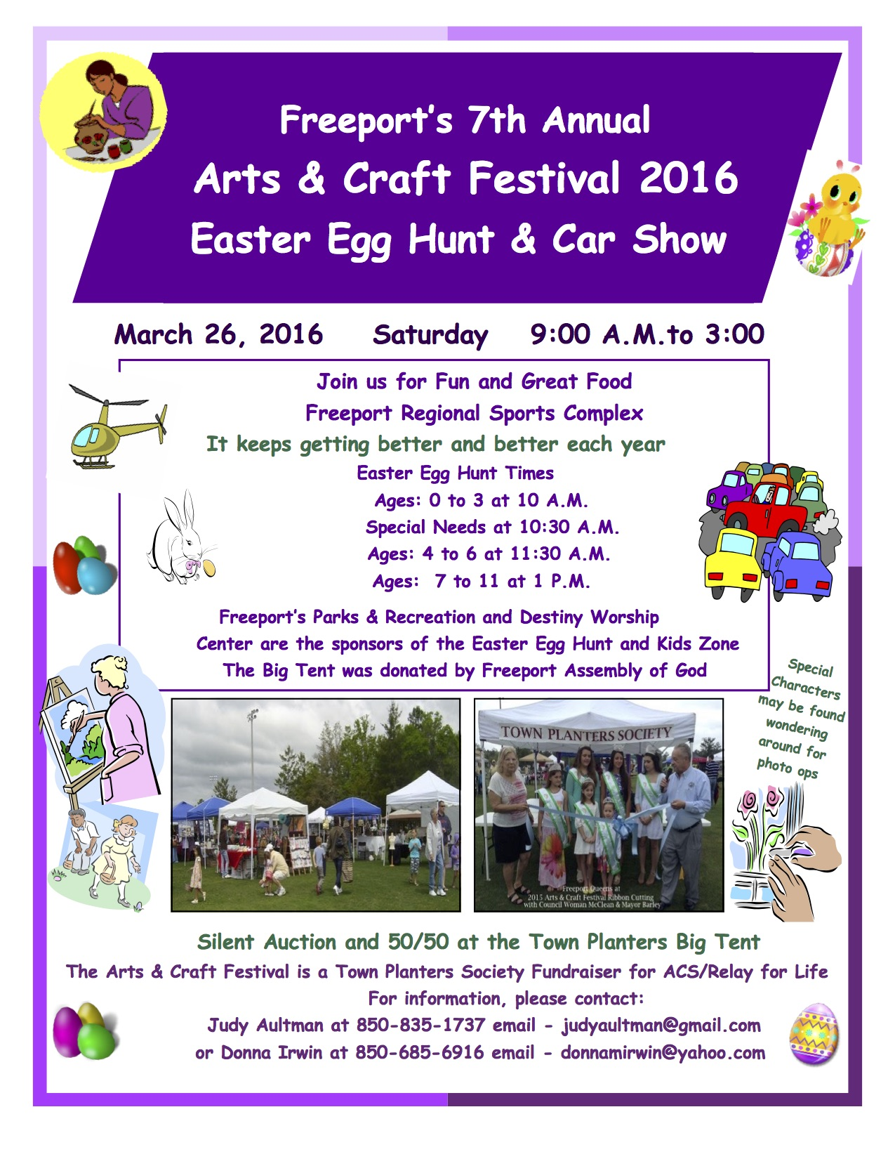 Freeport s 7th annual arts craft festival 2016 easter for Arts and crafts shows in florida