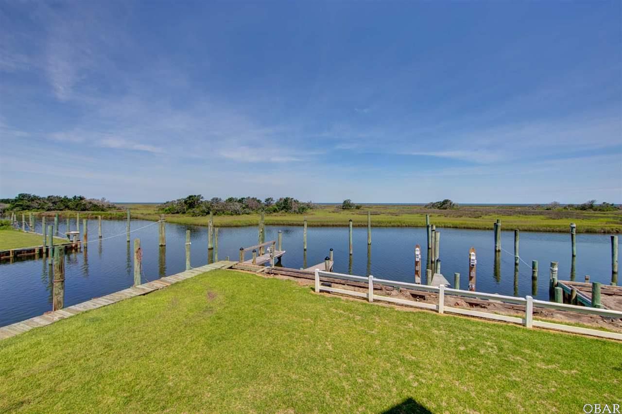 Photo of the view of the boat slip of 57195 M. V. Australia Lane in Hatteras, NC. This listing is for sale by Trisha Midgett.