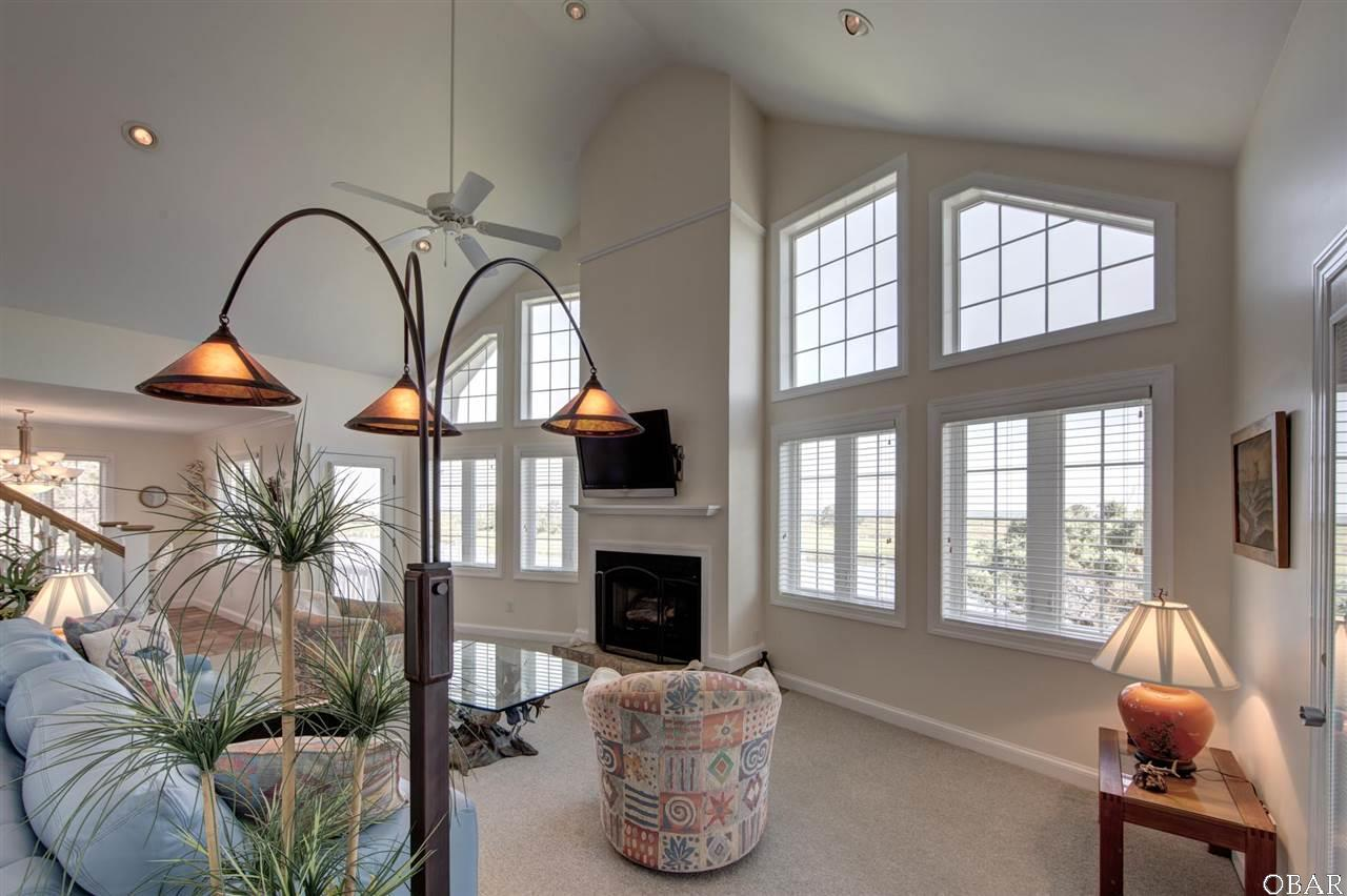 Photo of the view from the living room of 57195 M. V. Australia Lane in Hatteras, NC. This listing is for sale by Trisha Midgett.