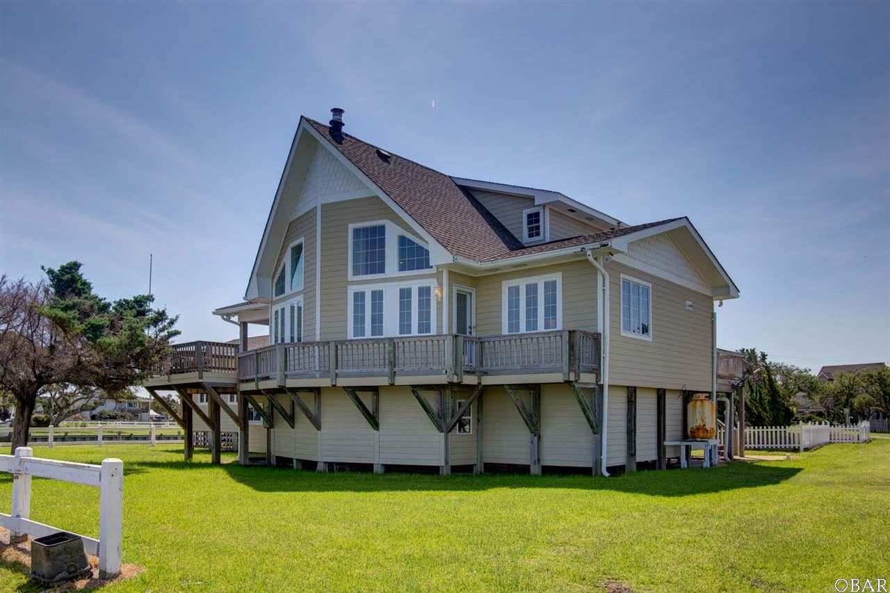 Photo of the exterior of 57195 M. V. Australia Lane in Hatteras, NC. This listing is for sale by Trisha Midgett.