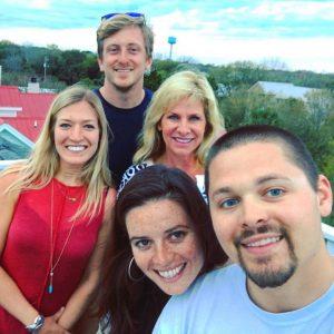 This is a selfie of Trisha Midgett and Team - Realtors on Hatteras Island