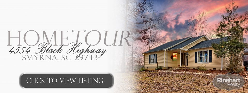 Home for Sale in Smyrna SC, 4554 Black Highway, Smyrna, SC 29743
