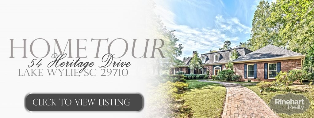 Lake Wylie Luxury Home for Sale 54 Heritage Drive Lake Wylie, SC 29710