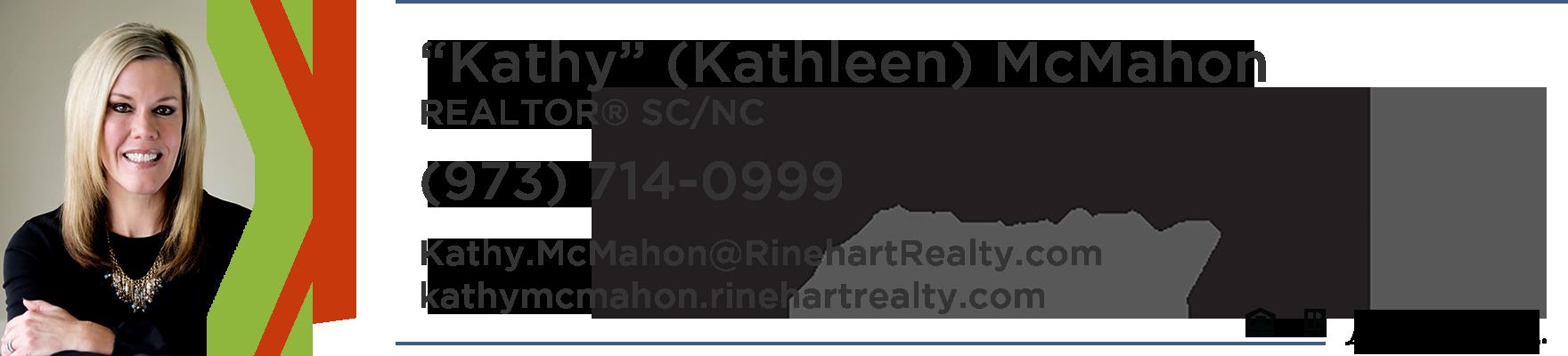 Kathleen Kathy McMahon Realtor SC NC