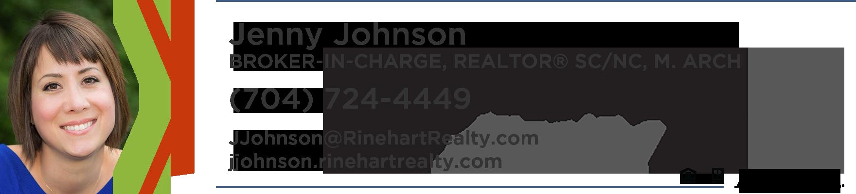 Jenny Johnson Broker in charge Realtor