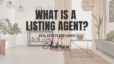 what is a listing agent