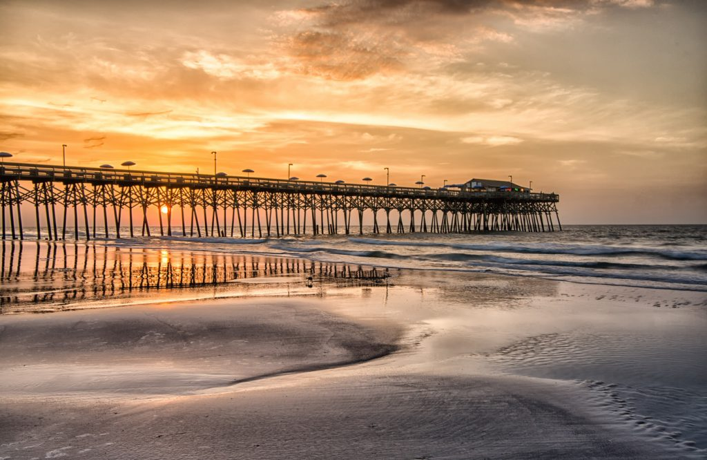 Beachcombing Pier Style In Myrtle Beach On The Grand Strand