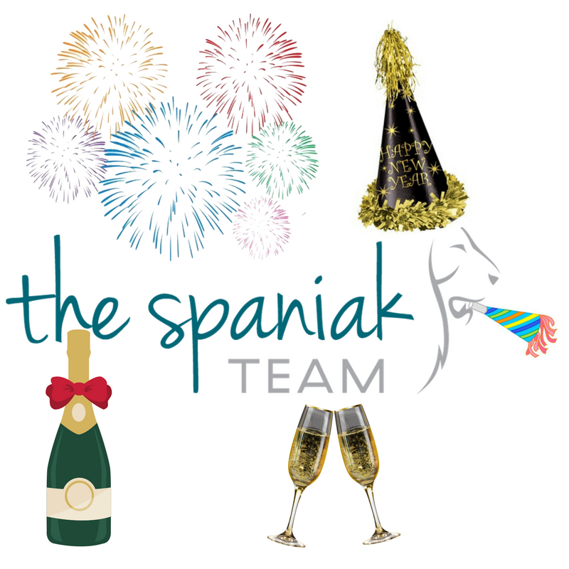 Happy New Year from all of us at The Spaniak Team ...