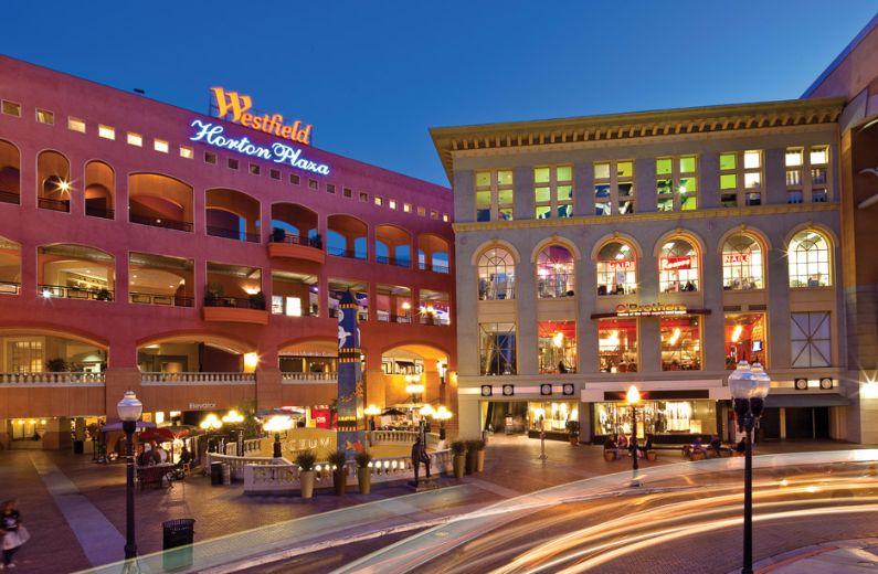 Horton Plaza Downtown San Diego Shopping