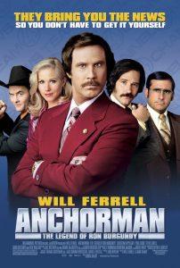 anchorman filmed in San Diego