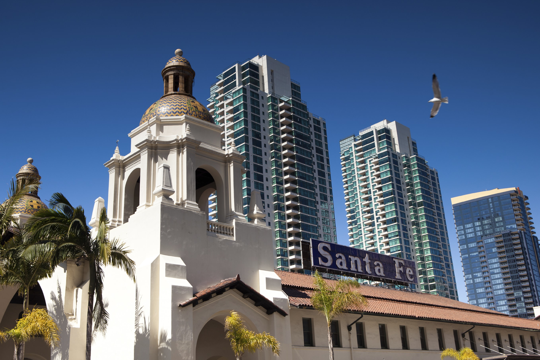 Santa Fe Station Downtown San Diego