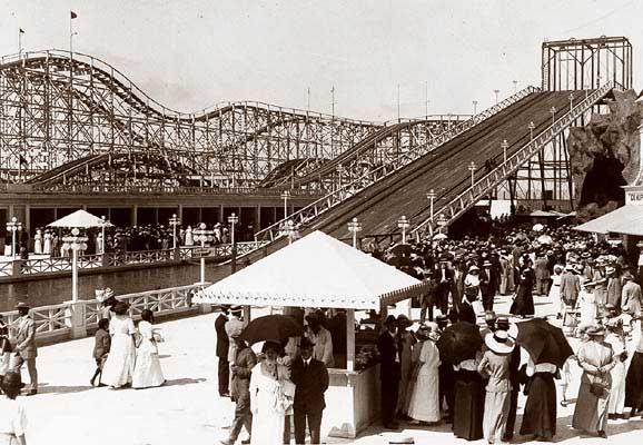 Wonderland Amusement Park Ocean Beach