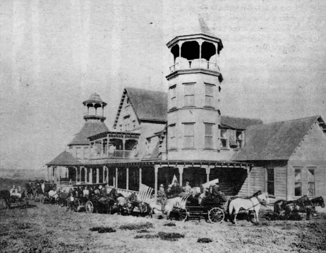 Ocean Beach Cliff House